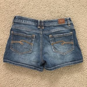 Justice Denim Jean Stretch Shorts Youth Size 14R